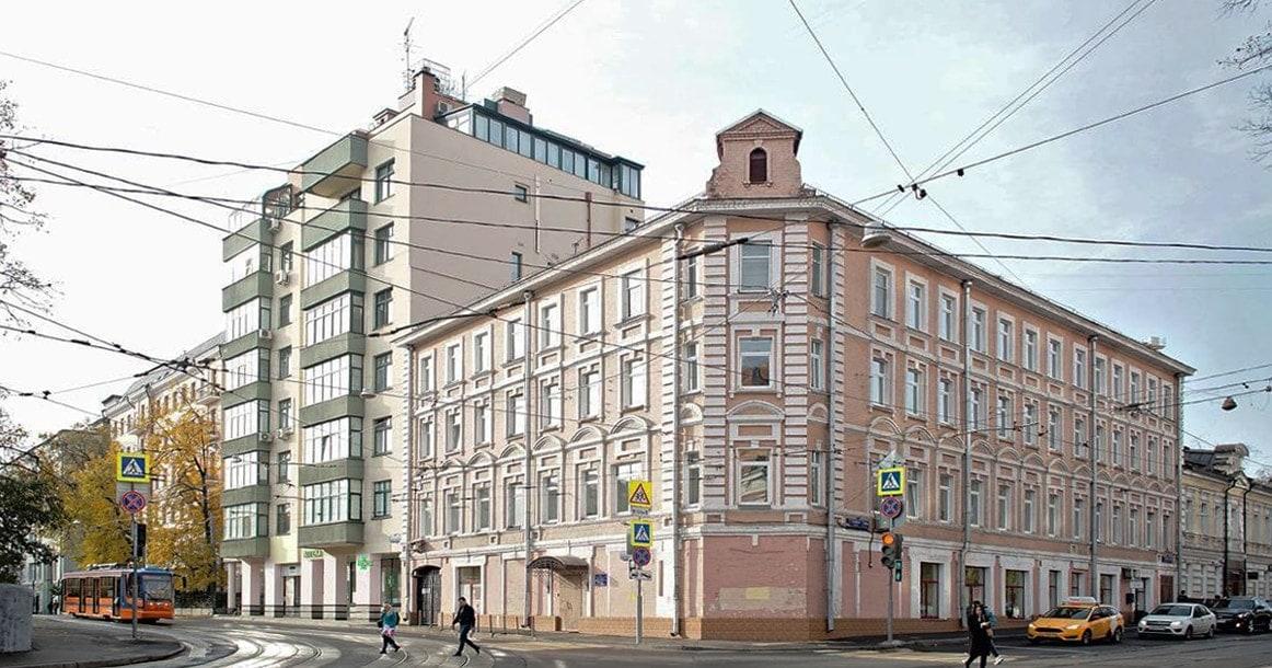 Дом №14/33 по улице Палиха, Москва. Фото - Евгений Чесноков