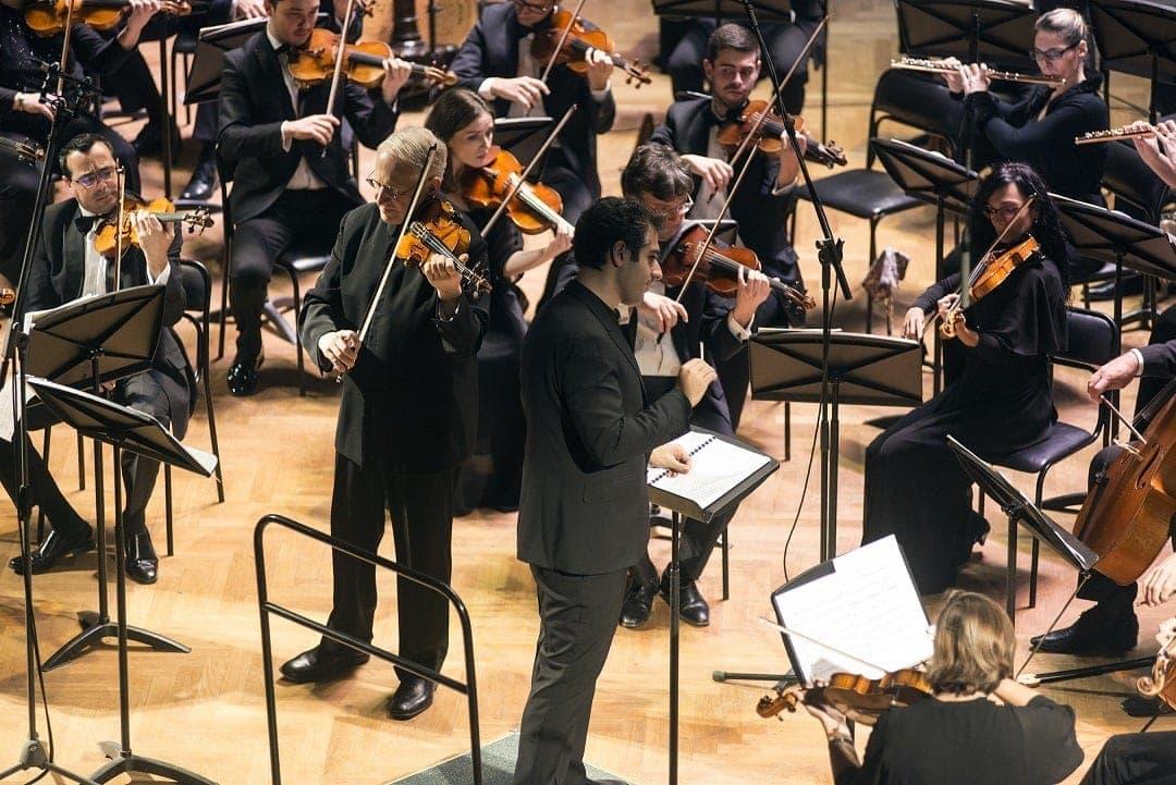 Шломо Минц, Сергей Смбатян и Мальтийский филармонический оркестр
