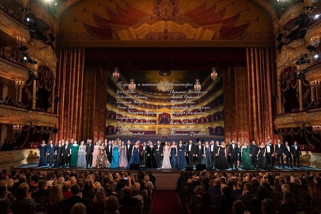 Финал концерта к 10-летию Молодежной оперной программы Большого театра. Фото - Павел Рычков