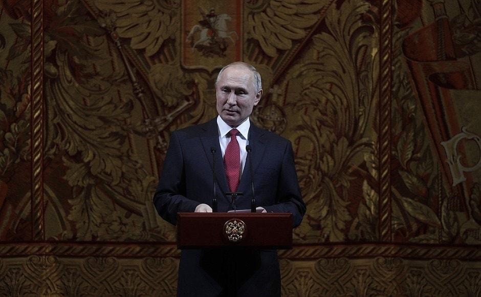 Президент РФ Владимир Путин. Фото - kremlin.ru
