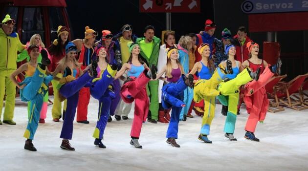 «Зимний вечер в Шамони». Сцена из спектакля. Фото - Олег Черноус