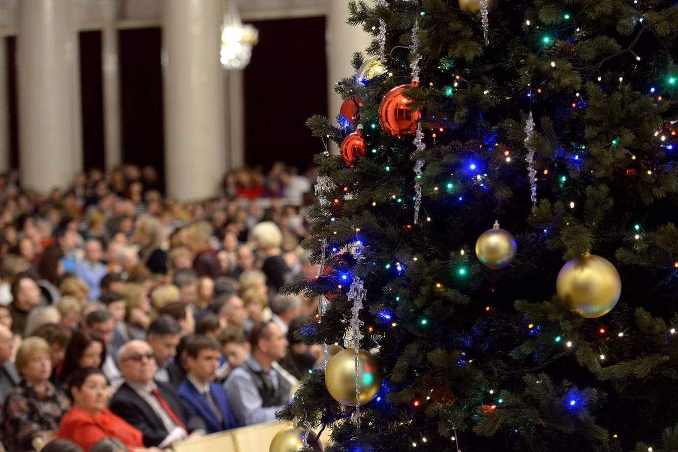 Праздничные концерты в Санкт-Петербургской филармонии