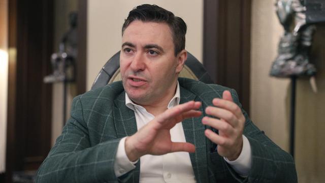 Максим Венгеров. Фото - Дмитрий Коротаев/Известия