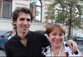 Александр Канторов и Рена Шерешевская
