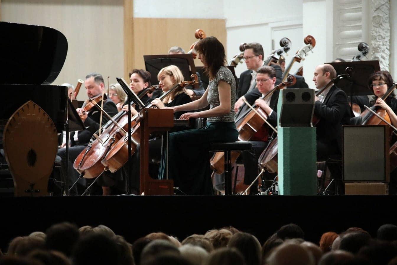 Натали Форже (волны Мартено) на фестивале Евразия (Екатеринбург, 2019)