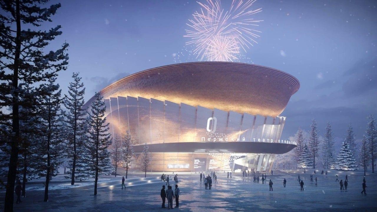 На градостроительном совете в Перми 24 января 2020 презентовали дизайн фасадов и интерьер будущего здания.