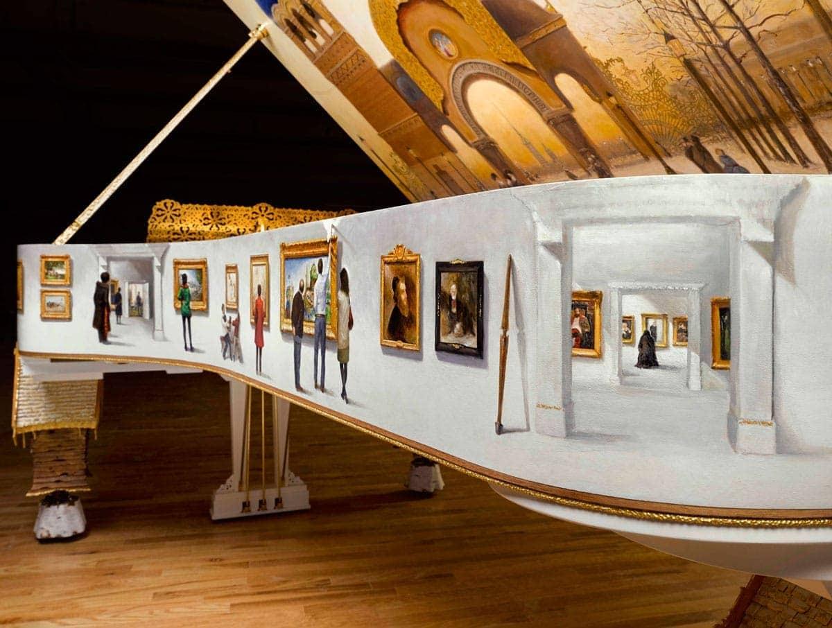 "Рояль Steinway & Sons ""Картинки с выставки"""""