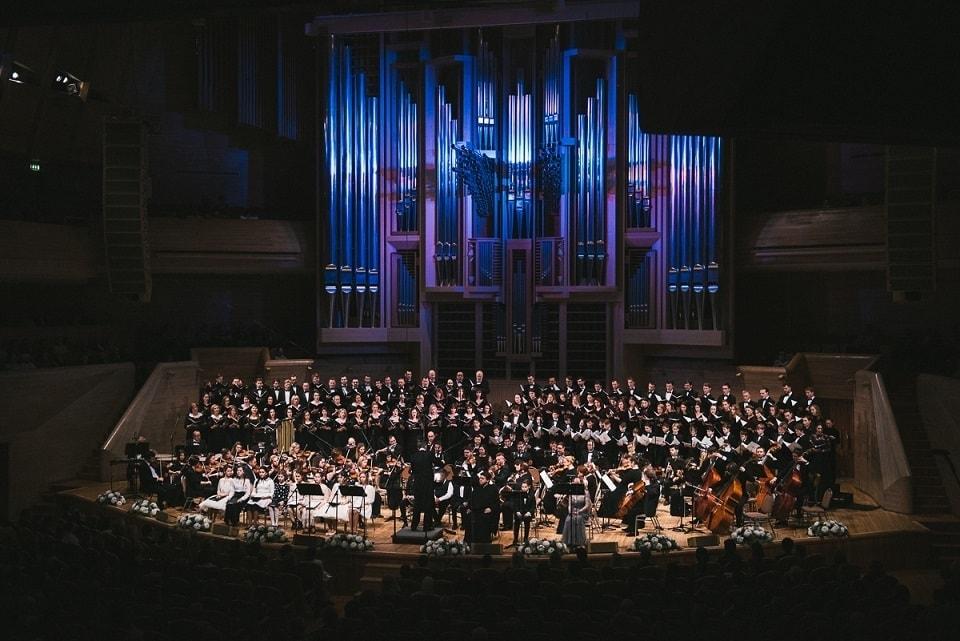 Концерт-открытие Рождественского фестиваля духовной музыки прошел в Светлановском зале ММДМ 12 января 2020