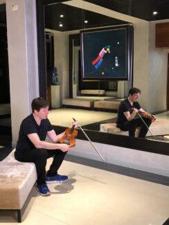 Джошуа Белл в новом зале Московского международного дома музыки