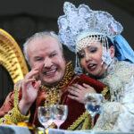 Альбина Шагимуратова (Людмила) и Глеб Никольский (Светозар)