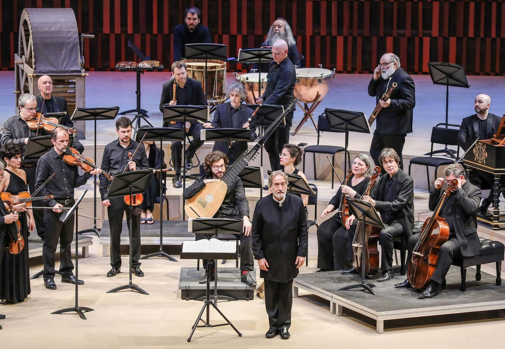 Жорди Саваль и оркестр «Le Concert des Nations». Фото - Лилия Ольховская
