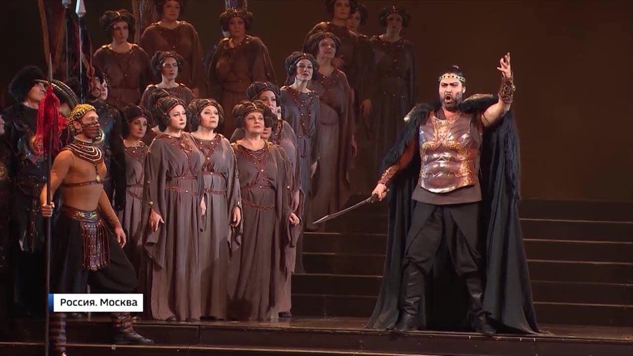 На сцене Большого театра показали оперу Верди «Аттила»