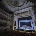 Берлинская Staatsoper, 12 марта, во время прямой трансляции оперы «Кармен», прошедшей при пустом зале © Peter Adamik
