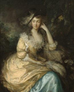 Томас Гейнсборо (1727–1788). Фрэнсис Сюзанна, леди Дунстанвиля