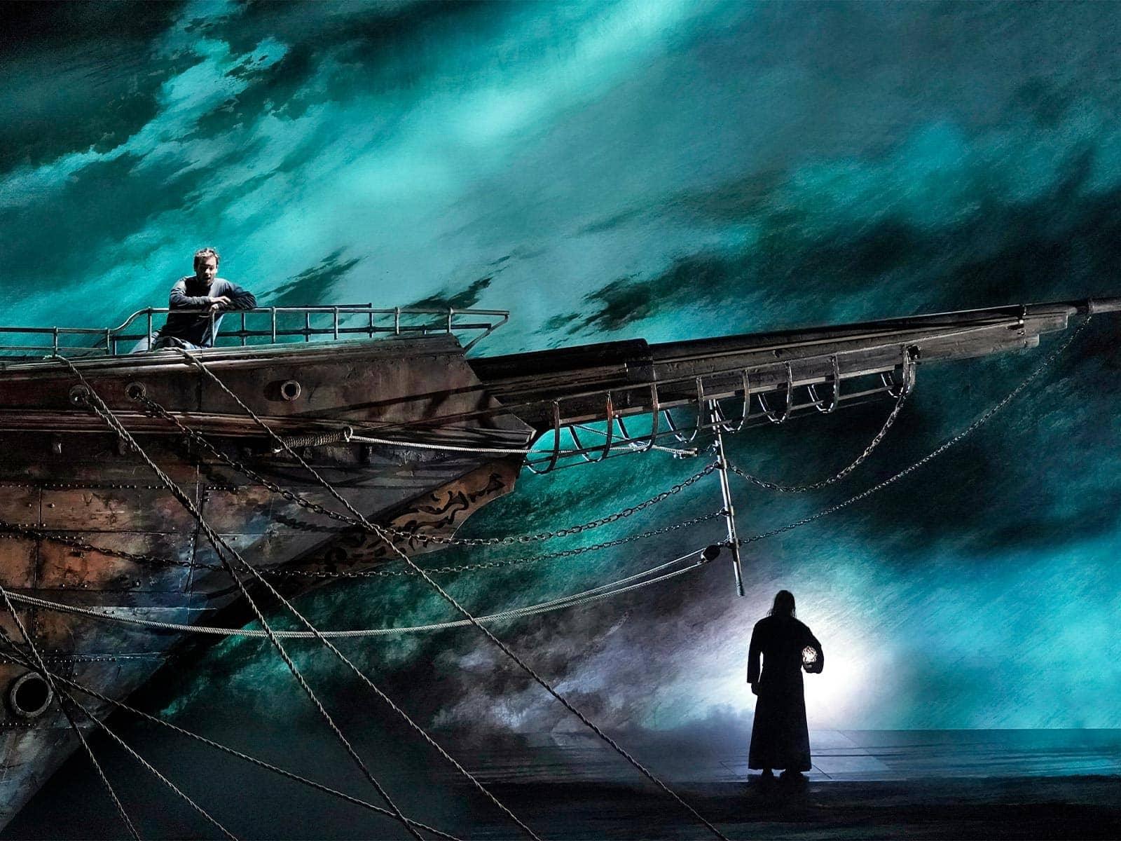 На сцене Метрополитен-оперы в Нью-Йорке состоится премьера оперы Вагнера «Летучий голландец». Фото - metopera.org