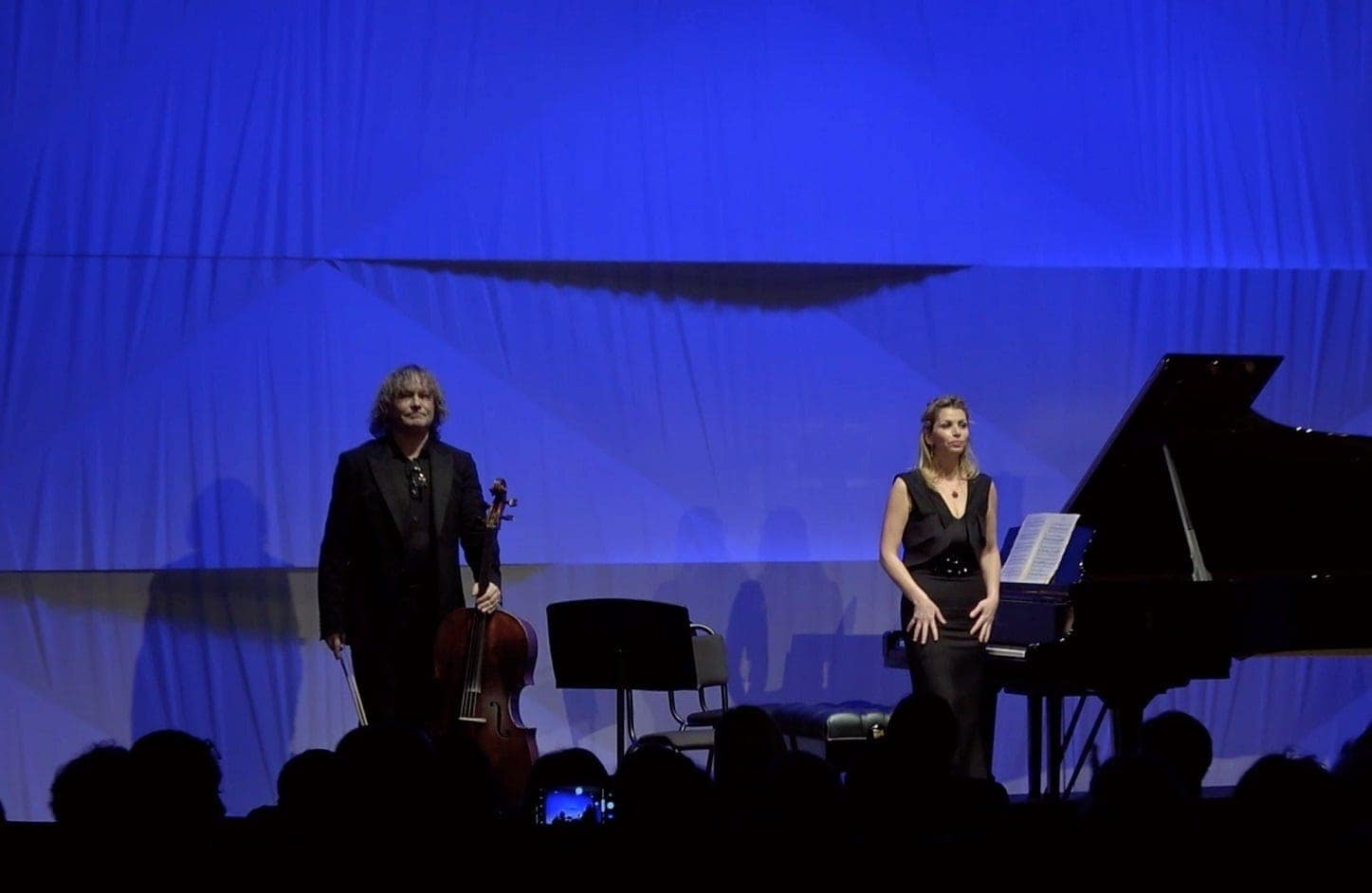 Александр Князев и Басиния Шульман