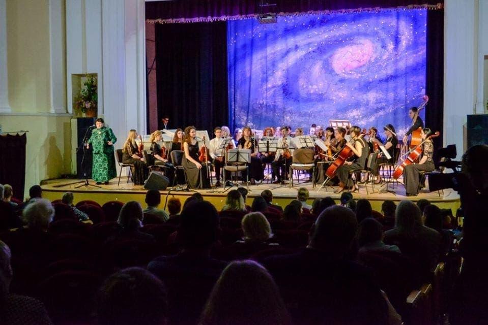 """Концерт """"Магия современного искусства"""" в Луганской государственной академии культуры и искусств"""