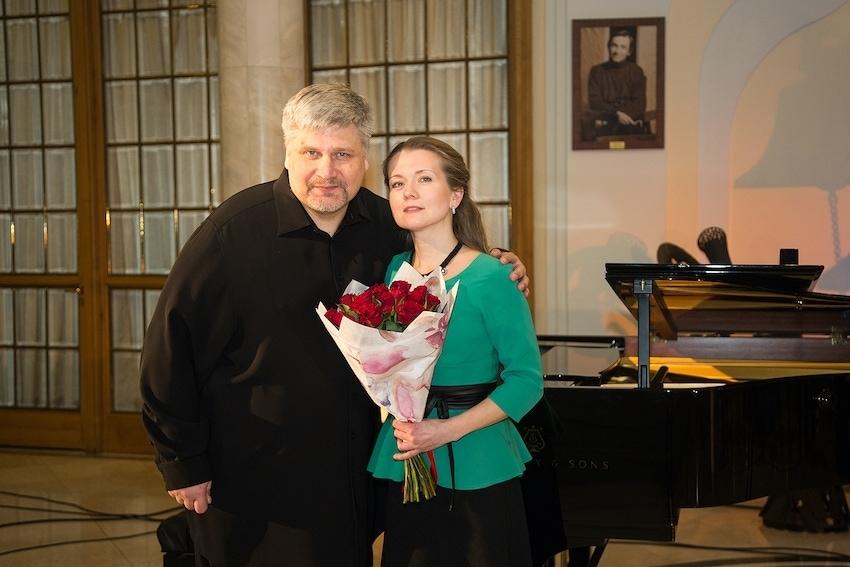 Дмитрий Сибирцев, Анна Ситникова. Фото - Даниил Кочетков / Новая опера