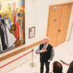 В Московском международном Доме музыки открылся новый зал, арт-пространство в фойе и мемориальная комната Альфреда Шнитке