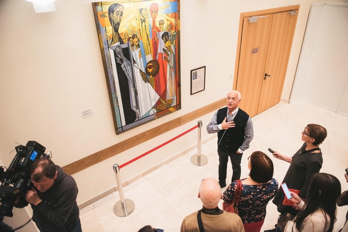 """Владимир Спиваков: """"Многие вещи, которые можно здесь увидеть – это произведения известных художников"""""""