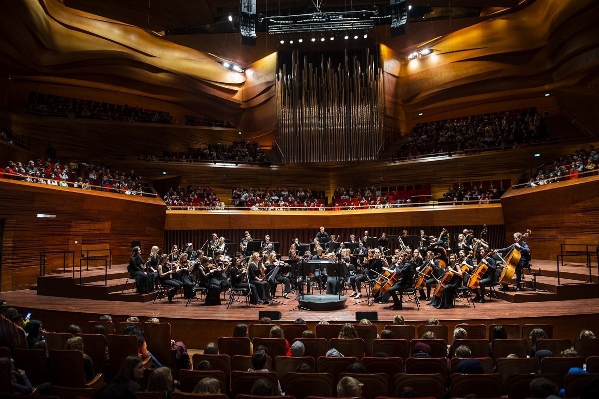 Концерты Объединенного российско-датского молодёжного симфонического оркестра в Концертном зале Датского радио в 2019 году прошли с аншлагами