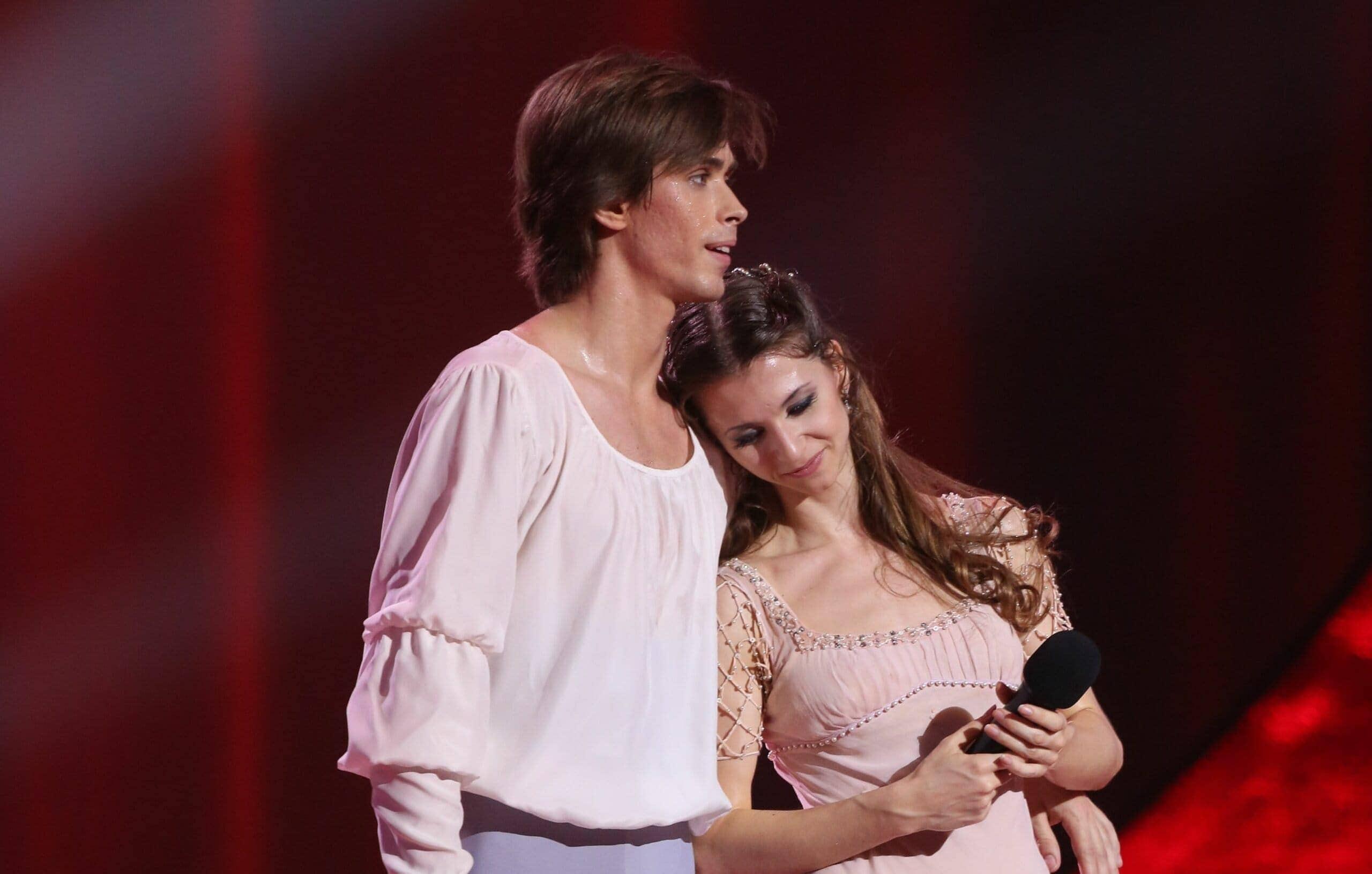 Артем Овчаренко и Анна Тихомирова. Фото - Вадим Шульц