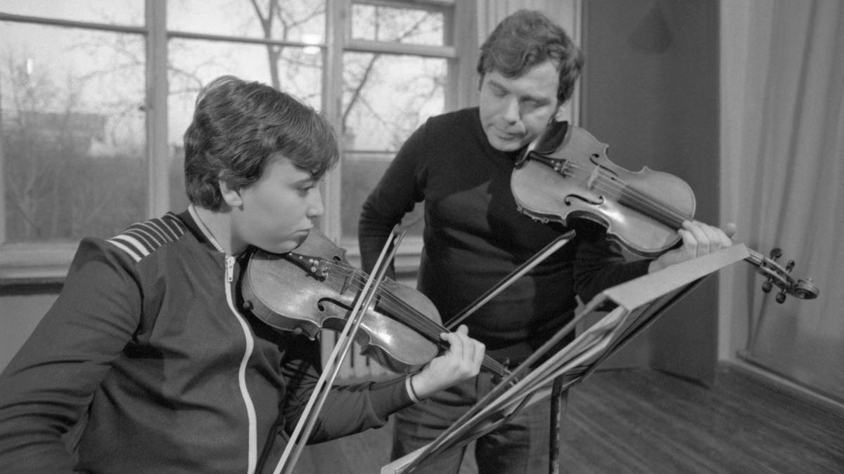 Максим Венгеров и Захар Брон