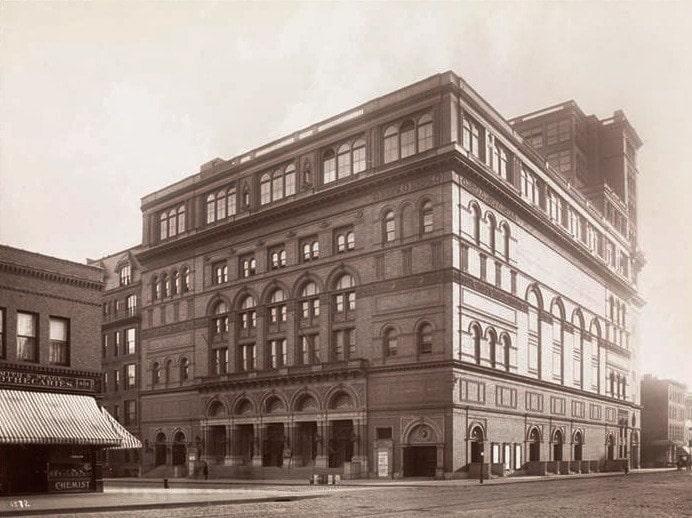 Carnegie Hall, 1890-е