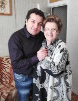 Леонид Друтин и Маргарита Шапошникова