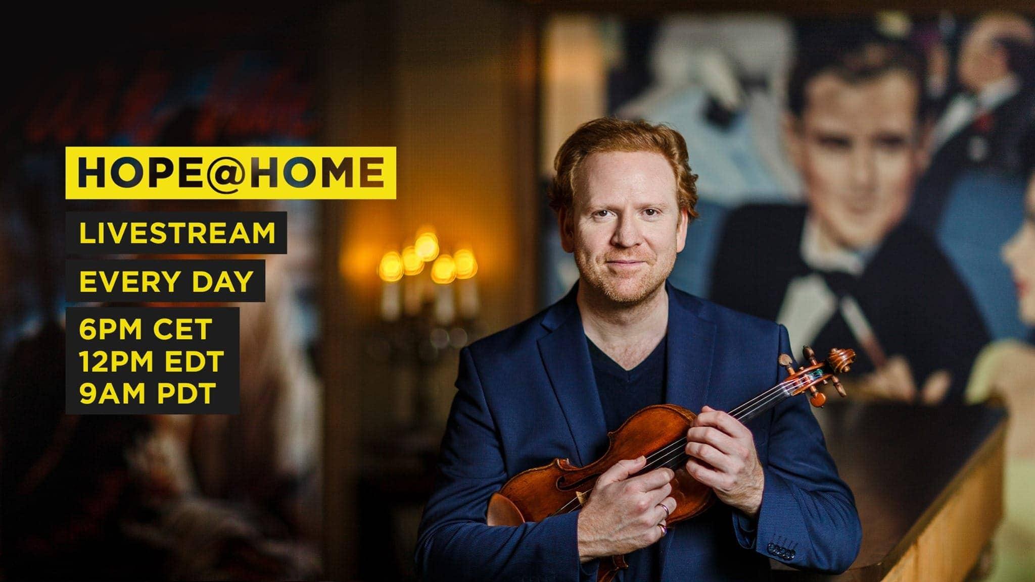 В Берлине состоялась серия концертов Hope@Home