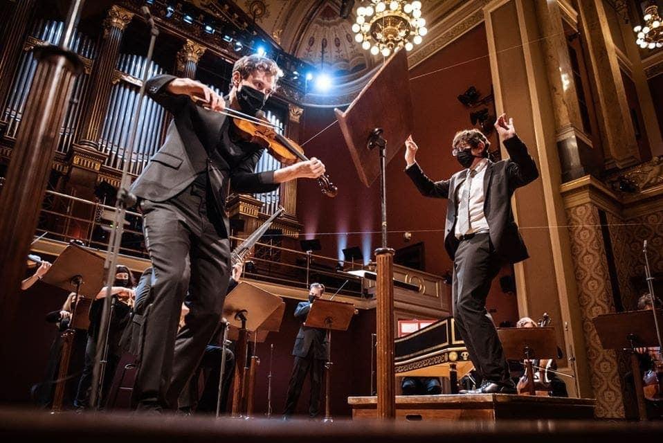 Музыканты Чешского филармонического оркестра дали благотоврительный концерт. Фото - https://www.facebook.com/ceskafilharmonie