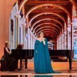 """Ежегодный концерт классической музыки в этот раз прошел не на Дворцовой площади, как обычно, а в онлайн-формате. Фото - Пресс-служба проекта """"Классика в честь Дворцовой"""""""