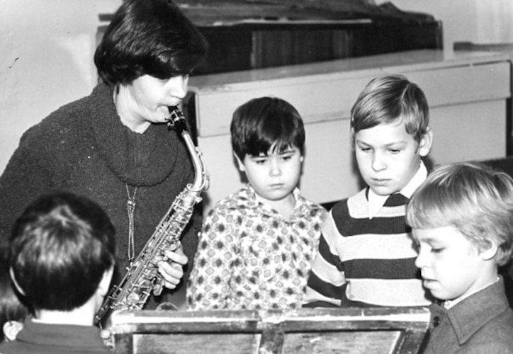 Музыкальная школа в Саратове, 1970-е года