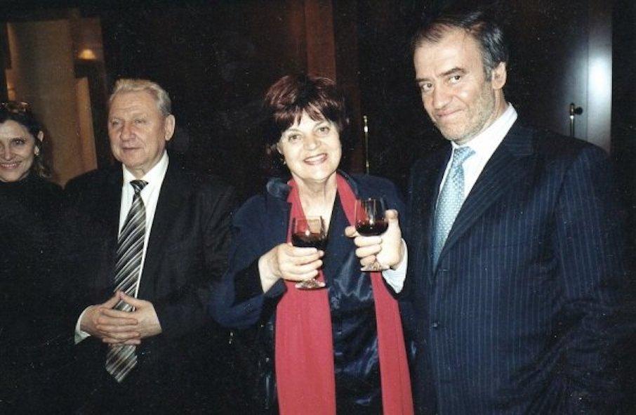 Маргарита Шапошникова и Валерий Гергиев
