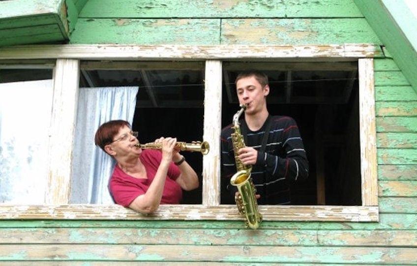 Маргарита Шапошникова и Никита Зимин