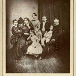 Первая семейная фотография Чайковских