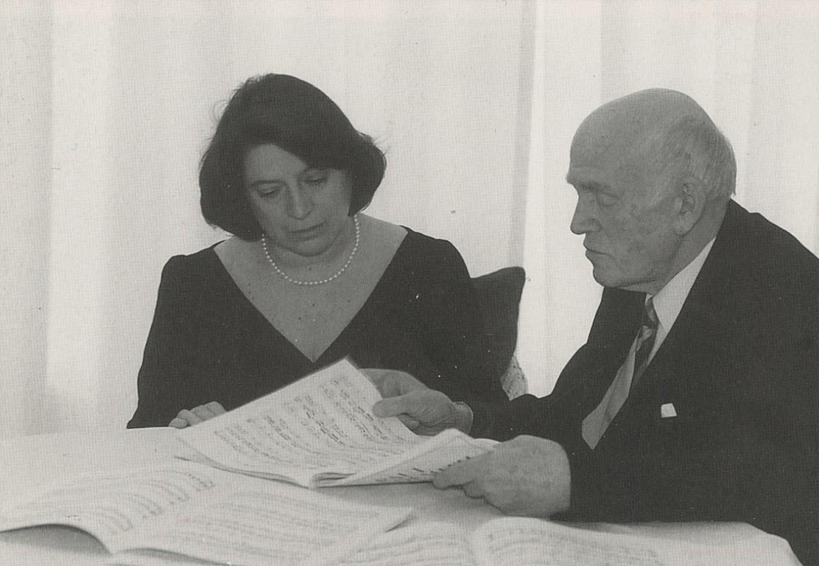 Елизавета Леонская и Святослав Рихтер
