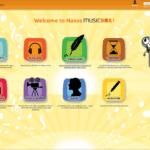 Новый музыкальный сервис для детей