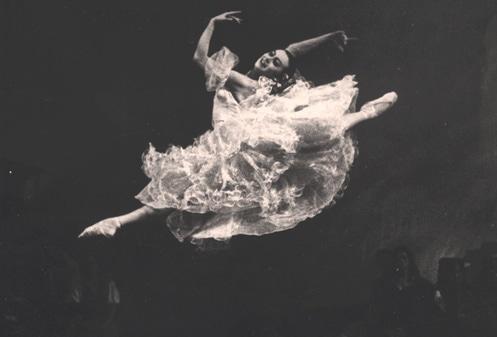 Нина Тимофеева в заглавной партии в балете «Лауренсия» Фото из музея Большого театра