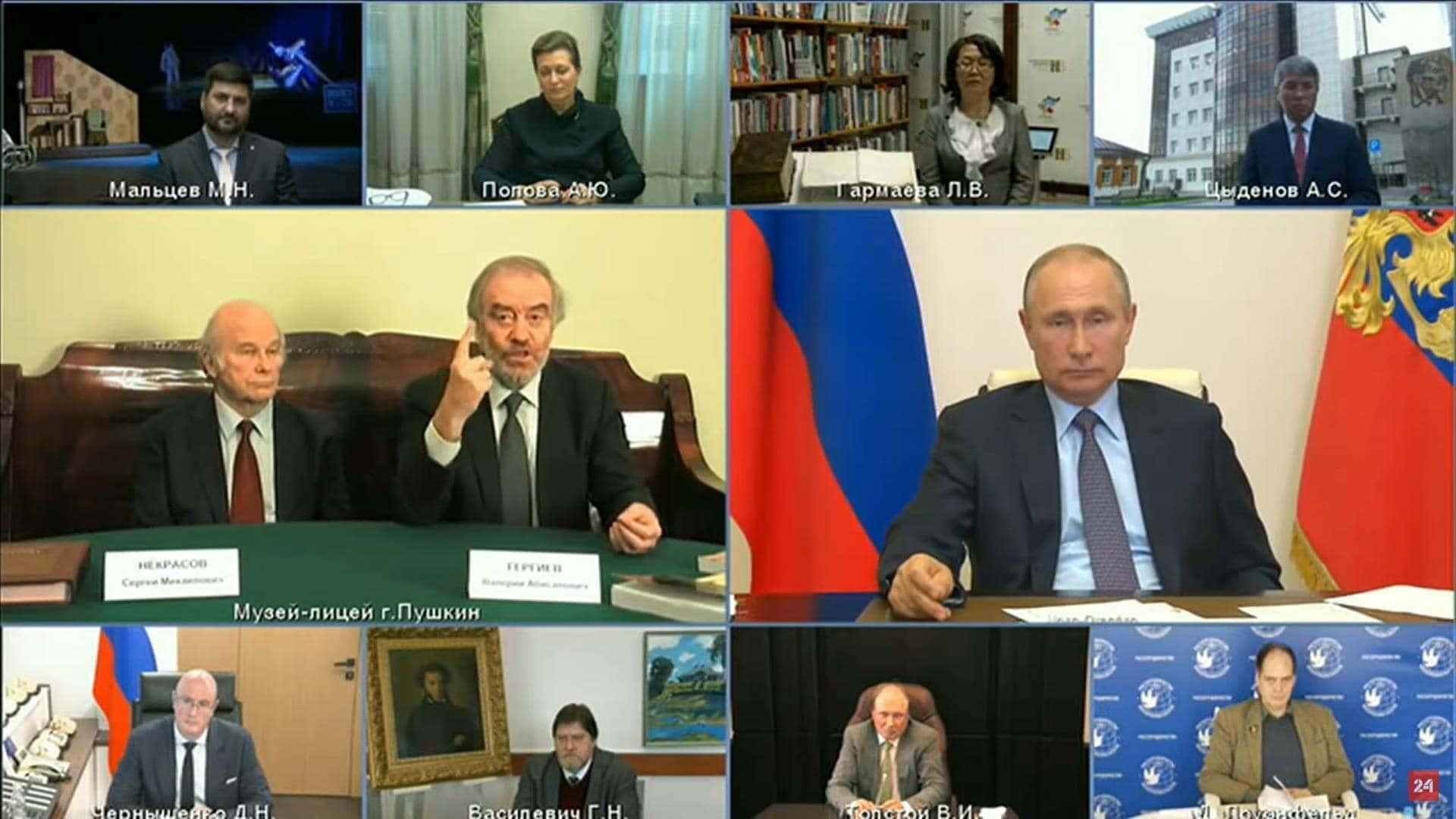 Деятели культуры рассказали о проблемах на встрече с президентом России.