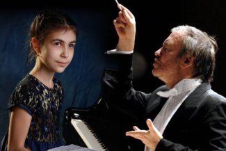 Александра Довгань и Валерий Гергиев