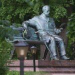 Памятник П. И. Чайковскому в Клину