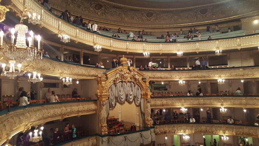 1 در ماه آگوست ، تئاتر Mariinsky صحنه تاریخی