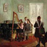 Александр Любимов. Урок музыки. 1939