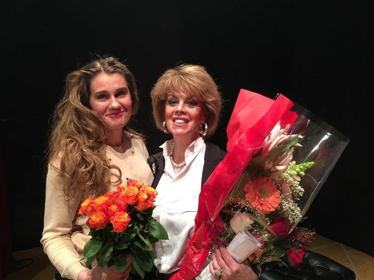 Наталья Зимина и Любовь Казарновская