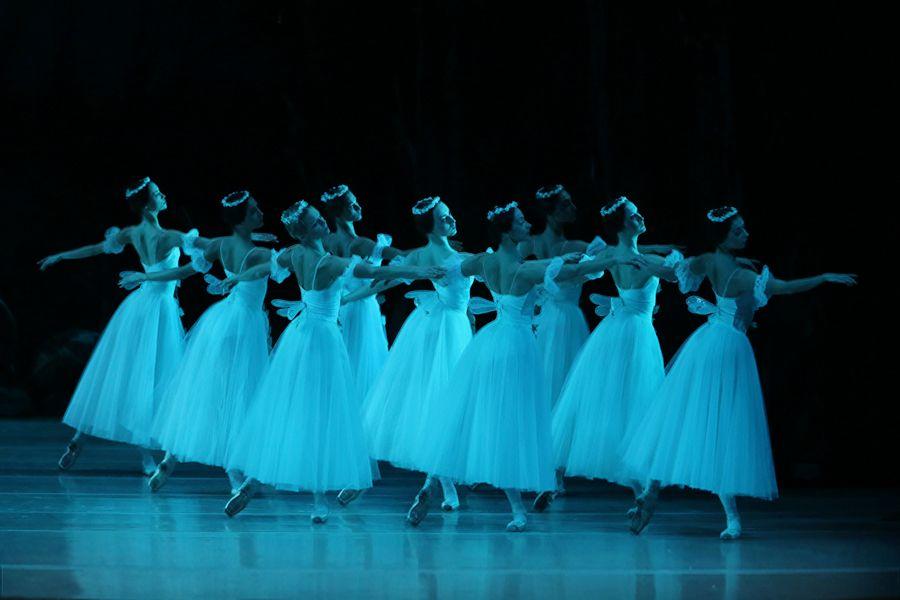 "Сцена из балета ""Жизель"""