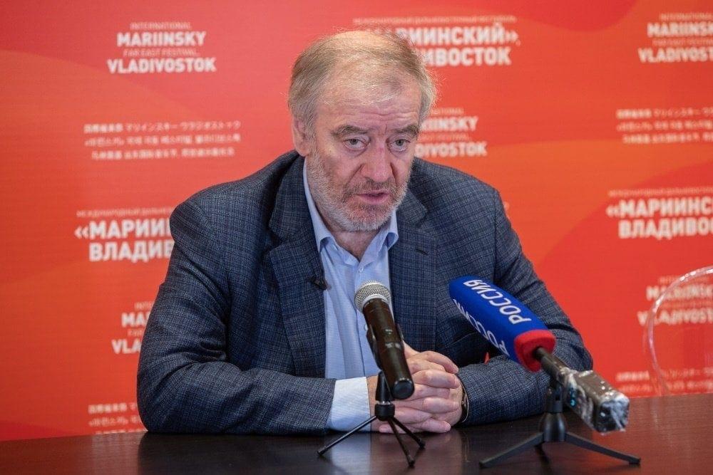 Валерий Гергиев. Фото - Геннадий Шишкин