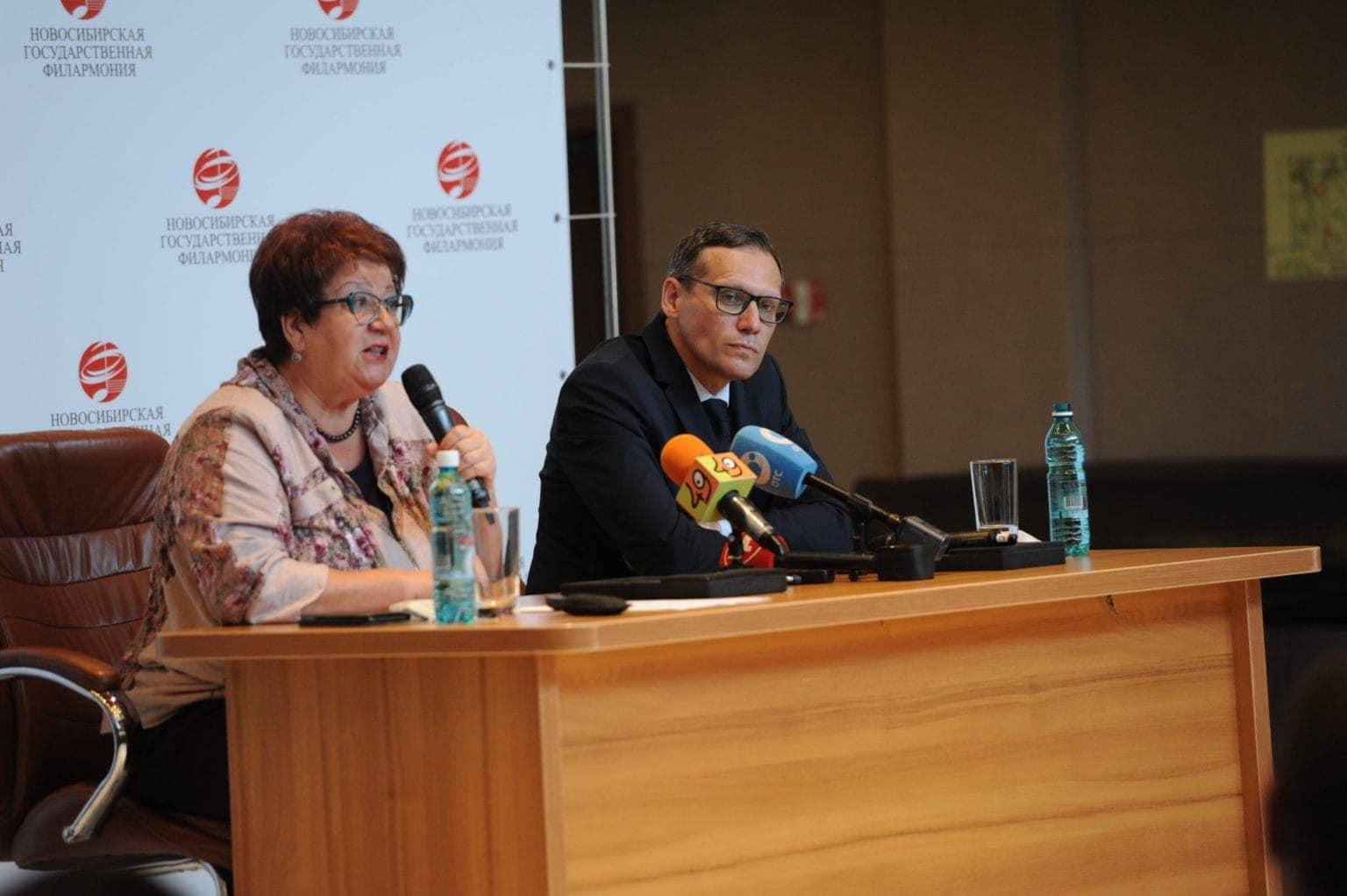 ناتالیا یاروسلاوسسوا و الکساندر بوخارنیکوف