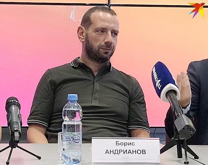Борис Андрианов. Фото - Татьяна Подъяблонская