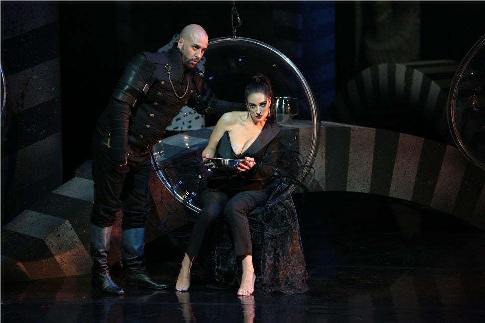 Валентина Гофер (Лаура) Дмитрий Янковский (Дон Карлос). Фото - Ирина Шымчак